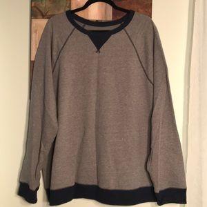 Other - Navy/grey crew neck sweatshirt